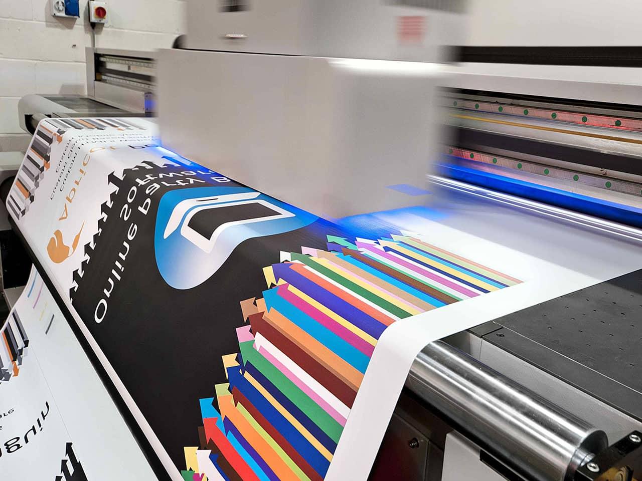 Готовые плакаты в типографии